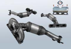 Catalytic Converter BMW 5 530i (E60)