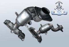 Catalytic Converter MAZDA 2 1.3i (DE)