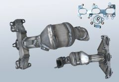 Catalytic Converter HYUNDAI Santa Fe I 2.7 V6 (SM)