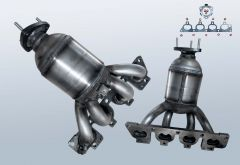 Catalytic Converter OPEL Vectra B CC 1.6 16v (J96)