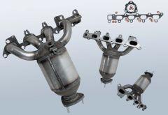 Catalytic Converter OPEL Corsa C 1.8 16v (X01)