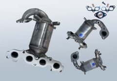 Catalytic Converter FORD Fusion 1.25 16v (CBK)