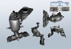 Catalytic Converter MAZDA 2 1.3i 16v (DE)