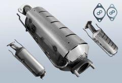 Diesel Particulate Filter HYUNDAI I30cw 1.6 CRDi (FD)