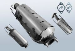 Diesel Particulate Filter HYUNDAI I30 1.6 CRDi (FD)