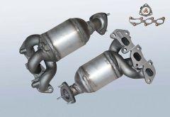 Catalytic Converter OPEL Corsa C 1.0 Twinport (F08,F68)