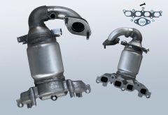 Catalytic Converter FORD Fusion 1.4 16v (JU)