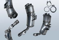 Diesel Particulate Filter MERCEDES BENZ S-Klasse S 350 CDI 4matic (W221081)