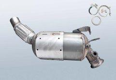 Diesel Particulate Filter BMW 320d (E92)