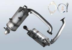 Diesel Particulate Filter MAZDA 3 1.6 DI Turbo (BK)