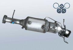 Diesel Particulate Filter MAZDA 3 2.0 CD (BK)