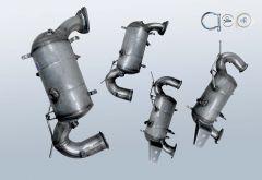 Diesel Particulate Filter OPEL Zafira C 2.0 CDTI (P12)