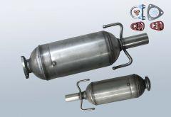 Diesel Particulate Filter OPEL Astra H 1.3CDTI (L69)