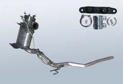 Diesel Particulate Filter VW Tiguan 2.0 TDI 4motion (5N)
