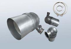 Diesel Particulate Filter CITROEN C3 1.6 HDI (FC)