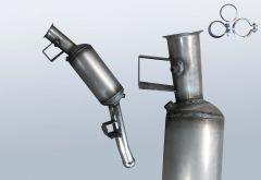 Diesel Particulate Filter MERCEDES BENZ ML 320 4matic CDI (W164122)