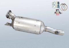 Diesel Particulate Filter RENAULT Espace IV 2.0 dCi (JK03_JK04)