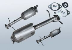 Diesel Particulate Filter FORD Tourneo Connect 1.8 TDCI (TC7)