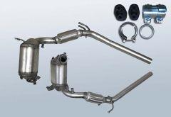 Diesel Particulate Filter VW Polo 1.9 TDI (9N3)