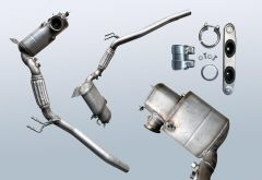 Diesel Particulate Filter VW CC 2.0 TDI (358)