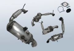 Diesel Particulate Filter FORD Tourneo Courier 1.6 TDCI (C4A)