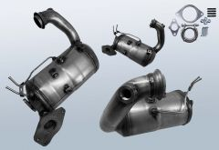 Diesel Particulate Filter RENAULT Capture 1.5 dCi 90 (J5)