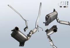 Diesel Particulate Filter VW Golf 5 Variant 1.9 TDI 4motion (1K5)
