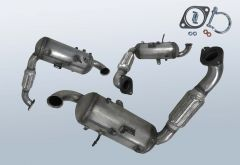 Diesel Particulate Filter FORD C-Max 1.6 TDCI (CB7)