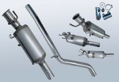 Diesel Particulate Filter MERCEDES BENZ B180 CDI (W246200)