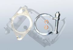 Mounting kit for DPF VOLVO C30 1.6 D (M)