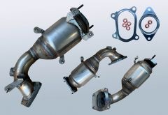 Catalytic Converter ABARTH 500 595 695 1.4 T Jet (312AXD1A)