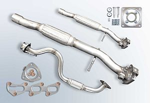 Mounting kits & exhaust pipes
