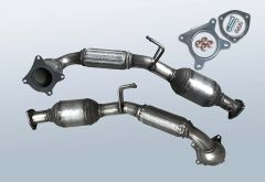 Catalytic Converter VW Sharan II 2.0 TSI (7N)