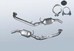 Catalytic Converter MERCEDES BENZ A-Klasse A160 CDI (169006, 169306)