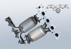 Catalytic Converter OPEL Vectra C 1.6 Twinport (J69)