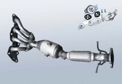 Catalytic Converter FORD Focus Cabriolet 2.0 (DA5)