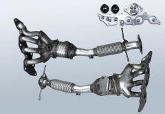 Catalytic Converter FORD Mondeo IV 2.0 Flexifuel (CA2)