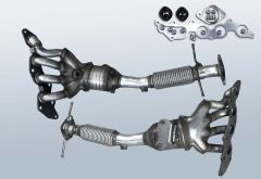 Catalytic Converter FORD Mondeo IV 2.0 16v (CA2)