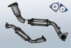 Catalytic Converter VW Touareg II 3.0 V6 TDI 4M BMT (7P)