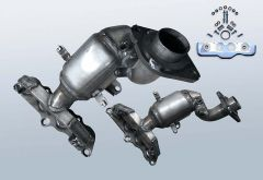 Catalytic Converter MAZDA 2 1.3i (DE)