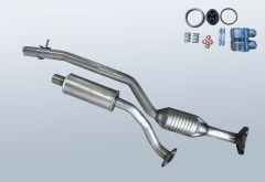 Catalytic Converter MAZDA MX5 1.8i (NC)