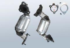 Catalytic Converter RENAULT Scenic III 1.2 Tce (JZ)