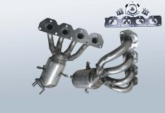 Catalytic Converter OPEL Zafira B 1.8i
