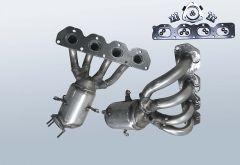 Catalytic Converter OPEL Zafira B 1.6i