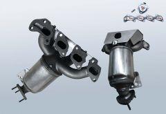 Catalytic Converter OPEL Corsa D 1.2i (0A08)