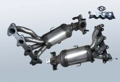 Catalytic Converter KIA Picanto 1.0i (SA)