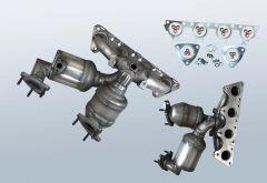 Catalytic Converter VW Eos 2.0 FSI (1F)