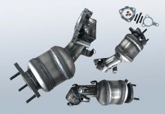 Catalytic Converter OPEL Astra H 1.7 CDTI (A04)