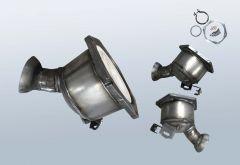 Catalytic Converter MERCEDES BENZ E-Klasse E200 CDI (W211007)