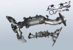 Catalytic Converter MAZDA 6 2.0 MZR (GH)